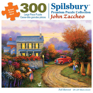 Fall Harvest 300 Large Piece Jigsaw Puzzle