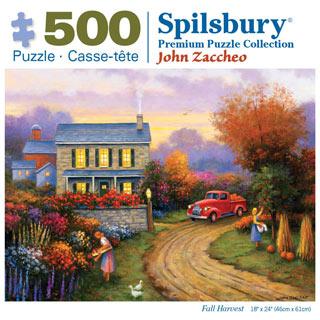 Fall Harvest 500 Piece Jigsaw Puzzle