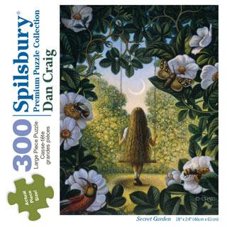 Secret Garden 300 Large Piece Jigsaw Puzzle