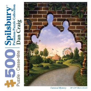 Carnival Mystery 500 Piece Jigsaw Puzzle