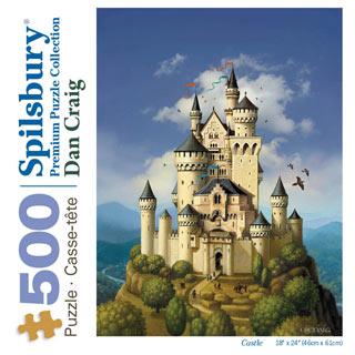 Castle 500 Piece Jigsaw Puzzle