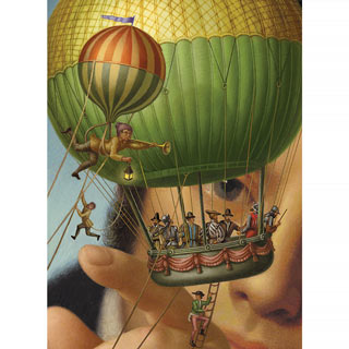 Gulliver's Travels 500 Piece Jigsaw Puzzle