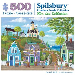 Seaside Stroll 500 Piece Jigsaw Puzzle