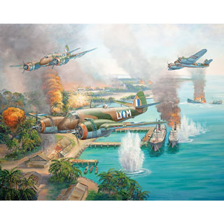 Beaufighter Blitz 300 Large Piece Jigsaw Puzzle