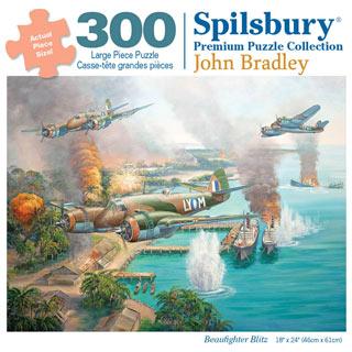 Beaufighter Blitz 300 Large Piece Jigsaw Puzzle
