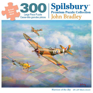 Warriors of the Sky 300 Large Piece Jigsaw Puzzle
