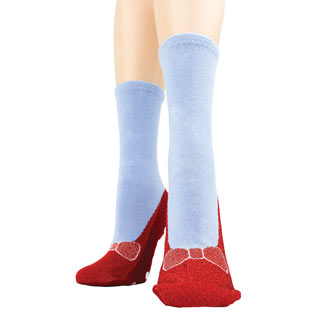 Magic Red Slipper Socks