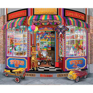 The Corner Toy Shop 300 Large Piece Jigsaw Puzzle