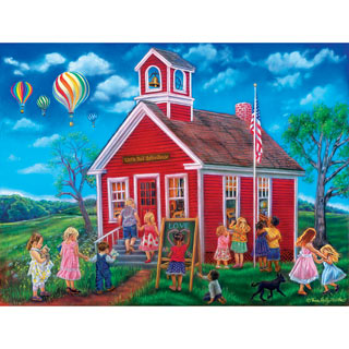 Time For School 300 Large Piece Jigsaw Puzzle