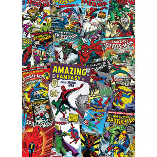 Spiderman Collage 1000 Piece Jigsaw Puzzle