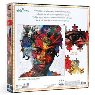 Angela 1000 Piece Jigsaw Puzzle