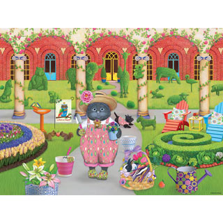 Gigi the Gardener 300 Large Piece Jigsaw Puzzle
