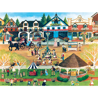 May Festival at Leavenworth 550 Piece Jigsaw Puzzle