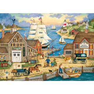 The Captain's Return 1000 Piece Jigsaw Puzzle