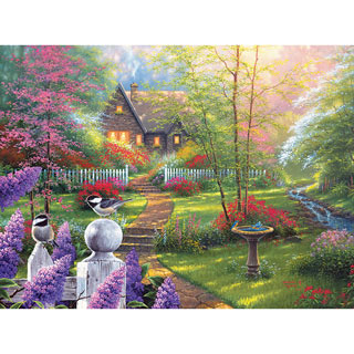 Secret Cottage Garden 300 Large Piece Jigsaw Puzzle