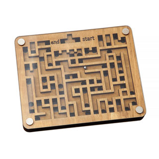 Wooden Double Maze