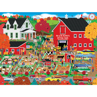 Plumly's Petting Farm 500 Piece Jigsaw Puzzle