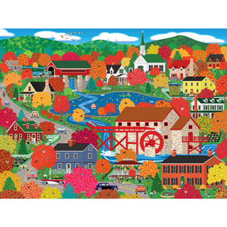 Old Mill Pond 300 Large Piece Jigsaw Puzzle