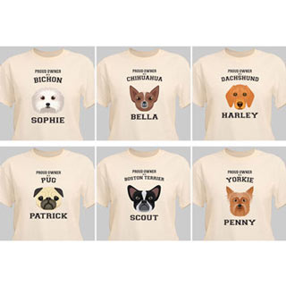 Personalized Dog Breed T-Shirt