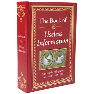 The Know-It-All Library Book - Useless Information