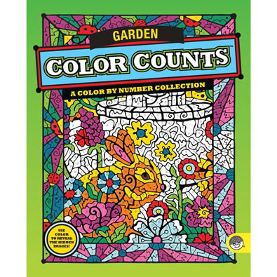 Garden - Color by Number Books