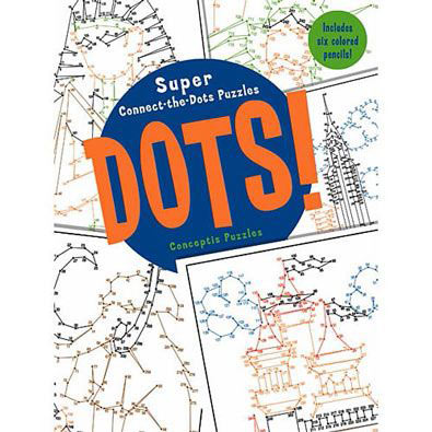 Super Connect The Dots Puzzle Book
