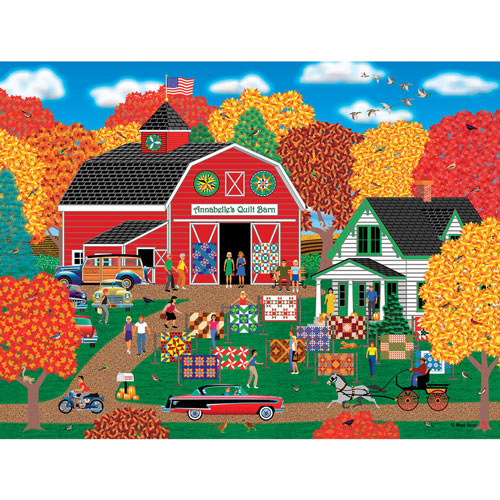 Annabelle's Quilt Barn 1000 Piece Jigsaw Puzzle