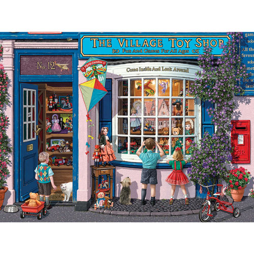 The Village Toy Shop 1000 Piece Jigsaw Puzzle