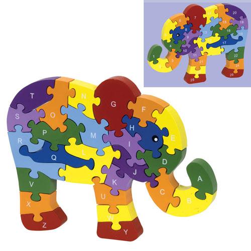 ABC Elephant Puzzle