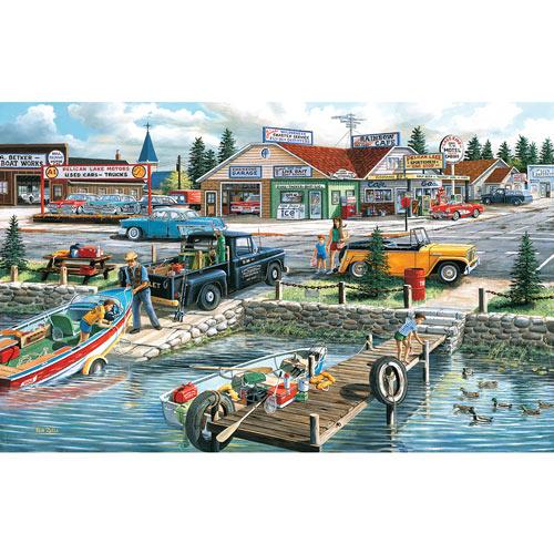 Pelican Lake 550 Piece Jigsaw Puzzle