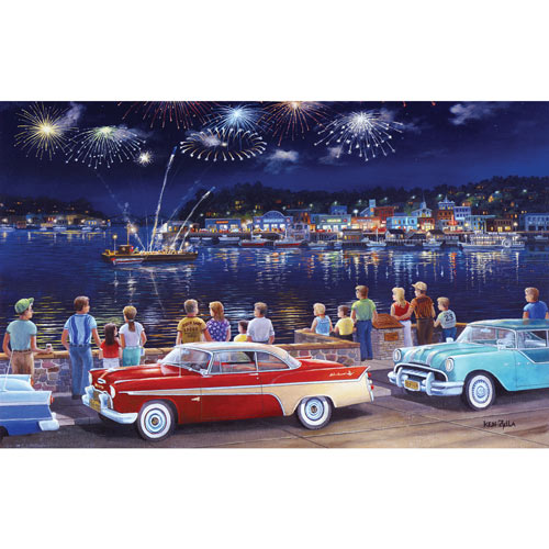 Grand Finale 550 Piece Jigsaw Puzzle