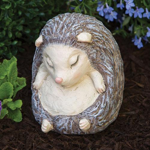 Sleeping Hedgehog Sculpture