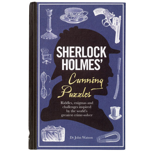 Sherlock Holmes' Cunning Puzzles Book