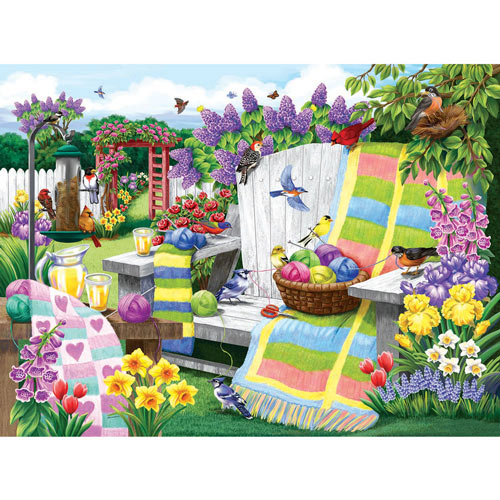The Many Colors of Spring 300 Large Piece Jigsaw Puzzle