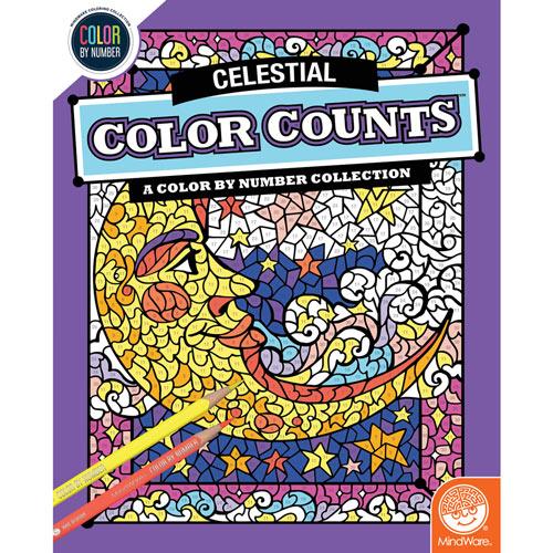 Color Counts Book - Celestial