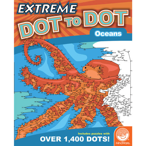 Oceans - Extreme Dot to Dot Books
