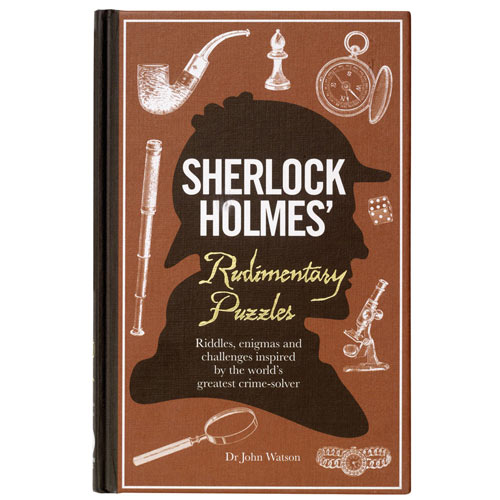 Sherlock Holmes' Rudimentary Puzzles Book