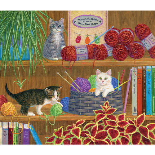 Mittens 550 Piece Jigsaw Puzzle