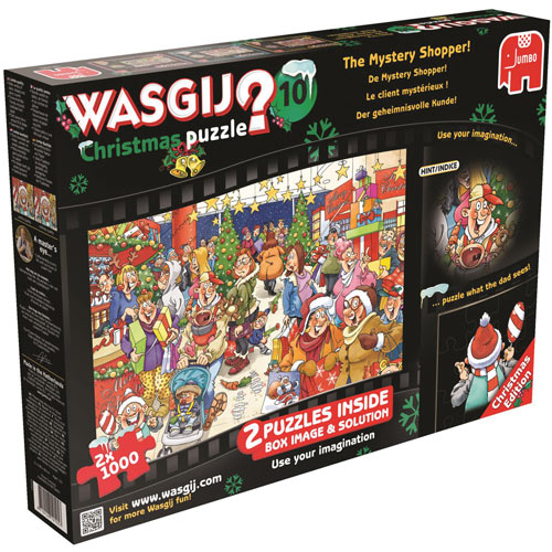Christmas Edition 1000 Piece Wasgij 2 in 1 Multi Pack