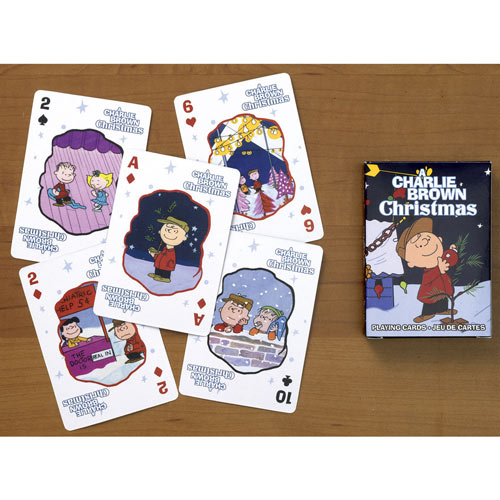 Charlie Brown® Christmas Playing Cards