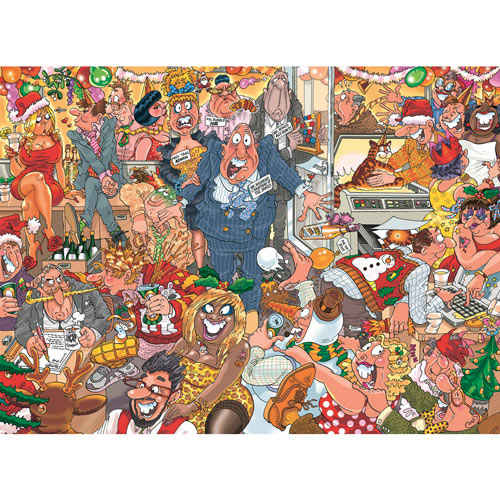 Christmas Double Trouble 1000 Pieces Wasgij Puzzle