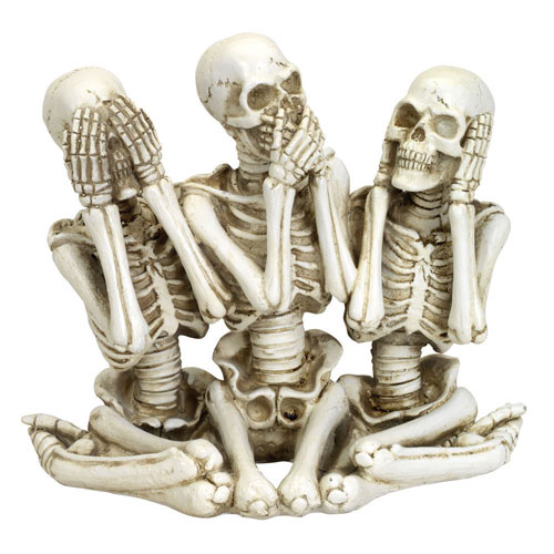No Evil Skeletons