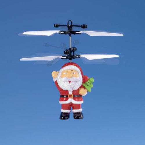 Remote Control Flying Santa