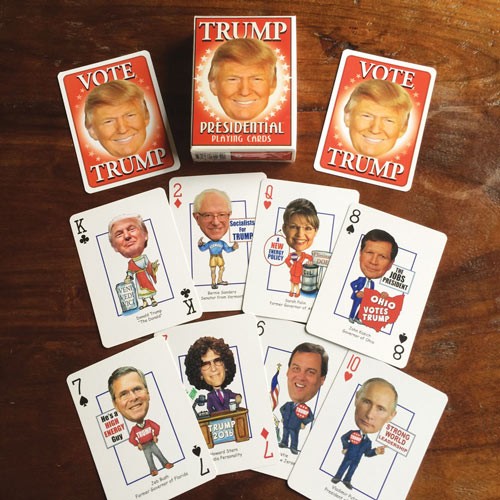 Donald Trump Political Playing Cards