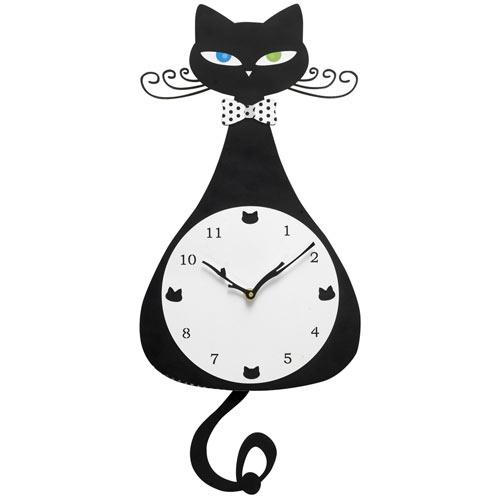 Cat Pendulum Clock