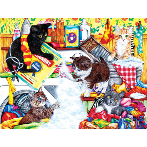 Soap Suds 300 Large Piece Jigsaw Puzzle