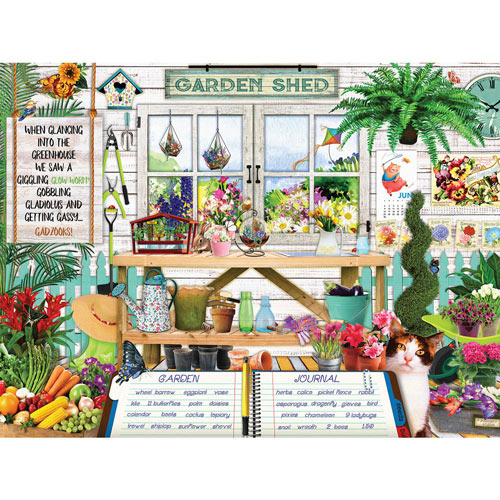 Garden Shed 300 Large Piece Jigsaw Puzzle