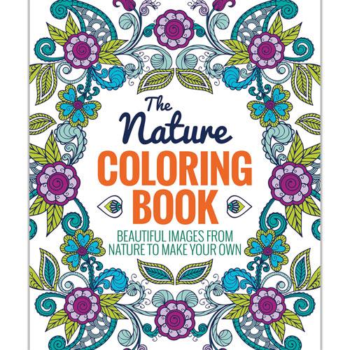 Nature Advanced Coloring Book