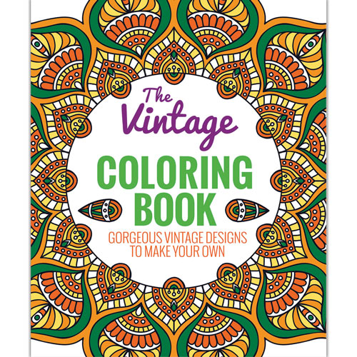 Vintage Advanced Coloring Book