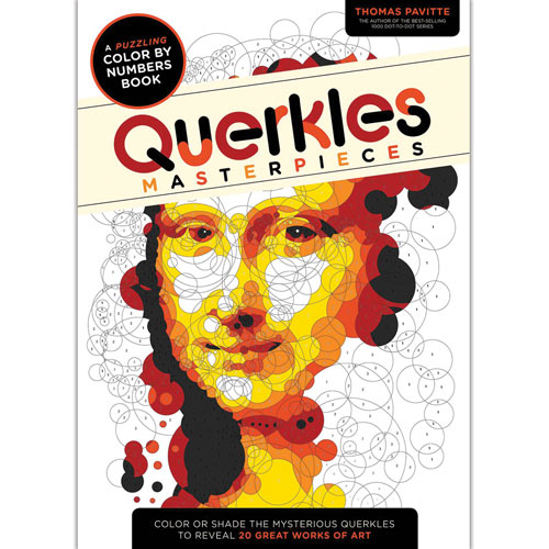 Querkles Masterpieces Color by Number Book